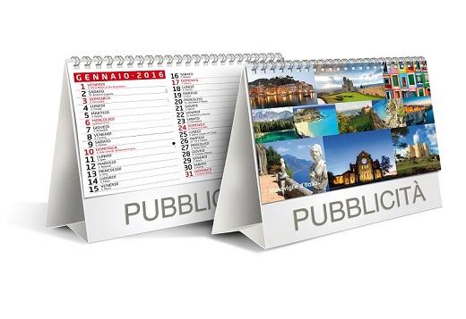 Stampa calendari da tavolo personalizzati milano